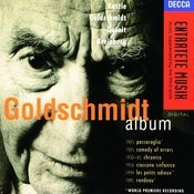 Goldschmidt: The Goldschmidt Album Songs