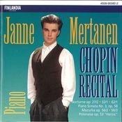 Chopin Recital Songs