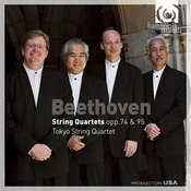 Beethoven: String Quartets Opp.74 & 95 Songs