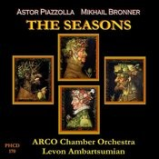 Piazzolla: The Four Seasons Of Buenos Aires - Bronner: The Seasons Songs