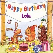 Happy Birthday Lola Songs