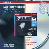 Chopin / Liszt / Mussorgsky / Schubert: The Sofia Recital 1958 Songs