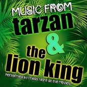 Music From Tarzan & The Lion King Songs