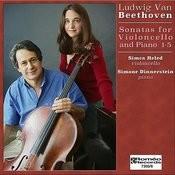Beethoven Sonatas For Violoncello And Piano 1-5 Songs
