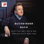 Bach: Partitas, BWV 825 & 826 - English Suite, BWV 808 Songs