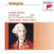 Haydn: Symphonies Hob. I: 45, 46 & 47 Songs