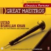 Great Maestros---Ustad Bismillah Khan-Shehnai Songs