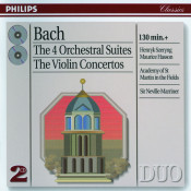 Bach J S The 4 Orchestral Suites The Violin Concertos Songs