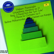 Webern Passacaglia Schoenberg Variations Op 6 Berg 3 Pieces From The Lyric Suite 3 Pieces For Orchestra Op 6 Songs