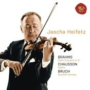 Brahms: Violin Concerto In D; Chausson: Poeme; Bruch: Scottish Fantasy Songs