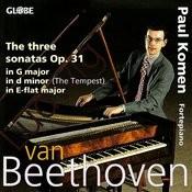 Beethoven: The Three Sonatas Op. 31 Songs