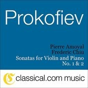 Sergey Prokofiev, Sonata For Violin And Piano No. 1 In F Minor, Op. 80 Songs