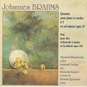 Brahms: Quatuor Pour Piano Et Cordes No. 1/Trio Pour Alto, Violoncelle Et Piano Op. 114 Songs