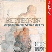 Beethoven: Complete Works For Winds And Brass Vol. 1 Songs