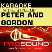 I Go To Pieces (Karaoke With Background Vocals)[In The Style Of Peter And Gordon] Song