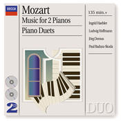 Mozart: Music for 2 Pianos; Piano Duets (2 CDs) Songs