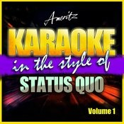 Karaoke - Status Quo Vol. 1 Songs