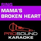 Mama's Broken Heart (In The Style Of Miranda Lambert) [Karaoke Version] Songs