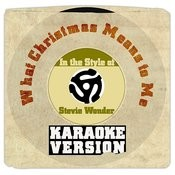 What Christmas Means To Me (In The Style Of Stevie Wonder) [Karaoke Version] - Single Songs