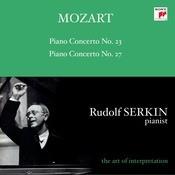 Mozart: Piano Concertos Nos. 23 & 27 Songs