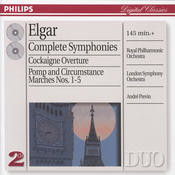 Elgar: The Symphonies;  The Pomp & Circumstance Marches; Cockaigne ( 2 CDs) Songs