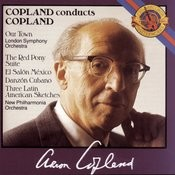 Copland: Our Town, The Red Pony, El Salon Mexico Songs