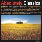Tchaikovsky: Piano concerto No. 1 & Paganini: Violin Concerto No.1, et al. Songs