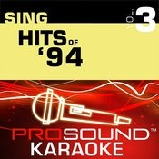 Sing Hits Of '94 V.3 (Karaoke Performance Tracks) Songs