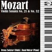 Mozart: Violin Sonata No. 21 & No. 32 Songs