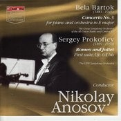 Bela Bartok. Concerto No.3 For Piano And Orchestra In E Major. Sergey Prokofiev. Romeo And Juliet First Suite, Op.65 Bis Songs