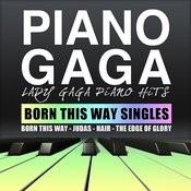 Lady Gaga Piano Hits (Born This Way Singles) Songs