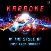Karaoke (In The Style Of Cast Of Cabaret) Songs