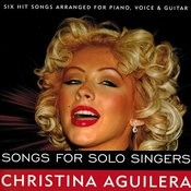 Christina Aguilera Songs For Solo Singers (Karaoke) Songs