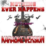 Nothing Ever Happens (In The Style Of Del Amitri) [Karaoke Version] - Single Songs