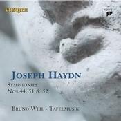 Haydn: Symphonies Nos. 44, 51 & 52 Songs