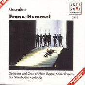 Hummel: Gesualdo-Opera Songs