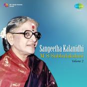 M S Subbulakshmi Vol 2 Songs