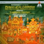 Mussorgsky/Gortchakov : Pictures at an Exhibition & Prokofiev : Classical Symphony Songs