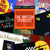 British Invasion Broadway 1981 1992 Songs