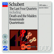 Schubert The Last Four Quartets Songs