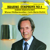 Brahms: Symphony No.3; Haydn-Variations Songs