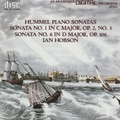 Hummel: Piano Sonatas Volume 1 Songs