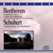 Beethoven: Symphony No 5 & Schubert: Symphony No 8 Songs