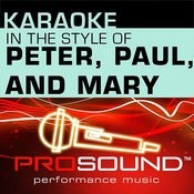 If I Had A Hammer (Karaoke Lead Vocal Demo)[In The Style Of Peter, Paul, And Mary] Song