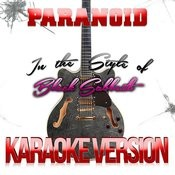 Paranoid (In The Style Of Black Sabbath) [Karaoke Version] - Single Songs