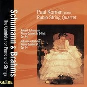 Brahms & Schumann: Piano Quintets Songs