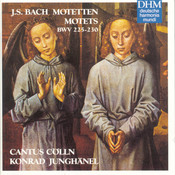 Bach Motets Songs