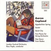 Copland: Appalachian Spring/Quiet City/Rodeo etc. Songs