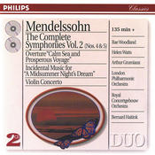 Mendelssohn: The Symphonies Vol.2; Violin Concerto; A Midsummer Night's Dream Songs