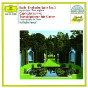 Bach English Suite No 3 Capriccio Bwv 922 Transcriptions For Piano Songs